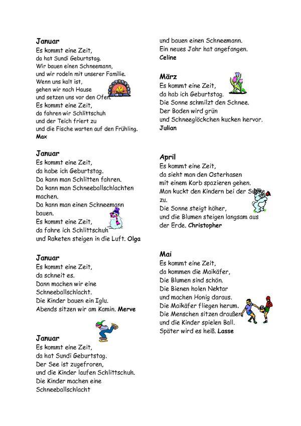 grundschule am waldschl246sschen elch gedichte