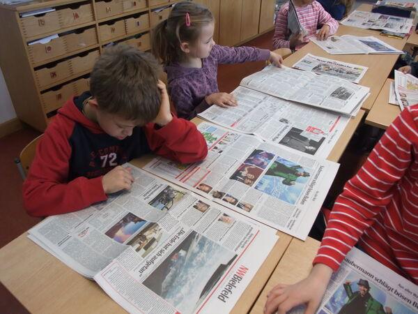 Anleitung  Zeitungsartikel schreiben  helpsterde